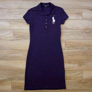 HOT!  RALPH LAUREN Ladies POLO Dress Retro Style S